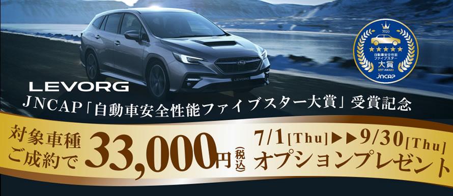 オプション3万円プレゼントキャンペーン