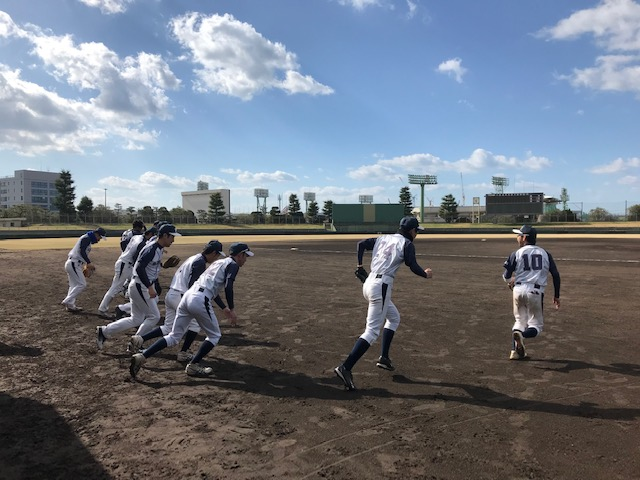 広島スバル野球部開幕戦