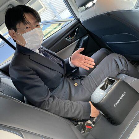 車内の臭いが気になる